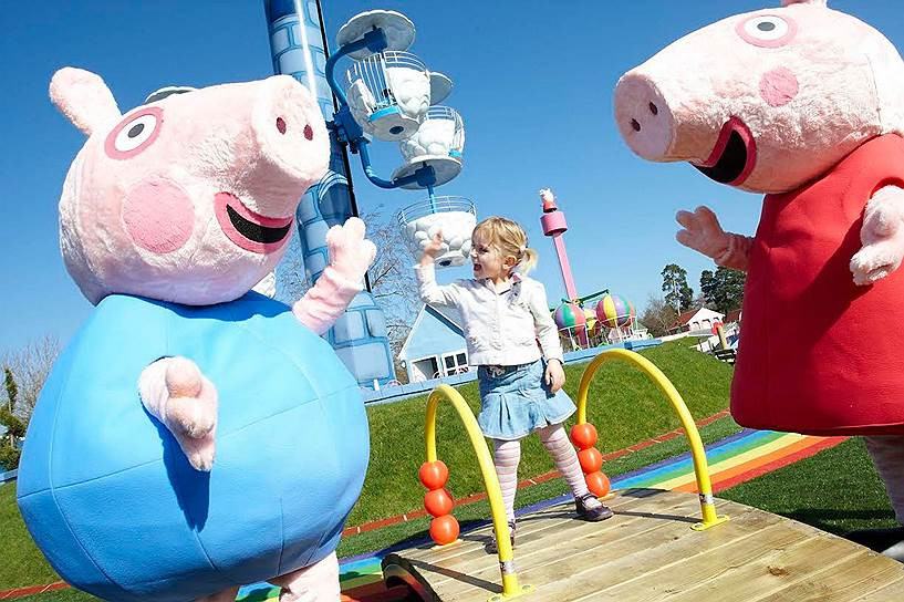 Продавцам контрафакта подложили свинку Пеппу