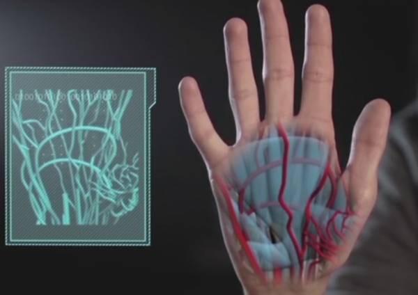 Samsung запатентовала сканирование ладони для аутентификации пользователей