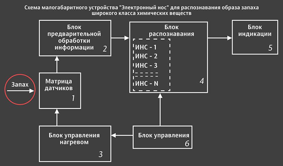 """Ученые НИУ ВШЭ запатентовали """"электронный нос"""""""