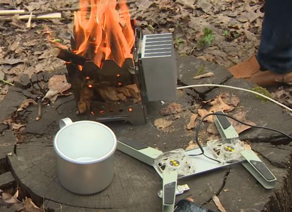 В Уфе изобрели устройство, позволяющее заряжать гаджеты от костра