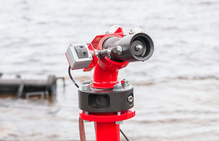 В Карелии изобрели роботов, которые тушат пожар водяным туманом из микрокапель