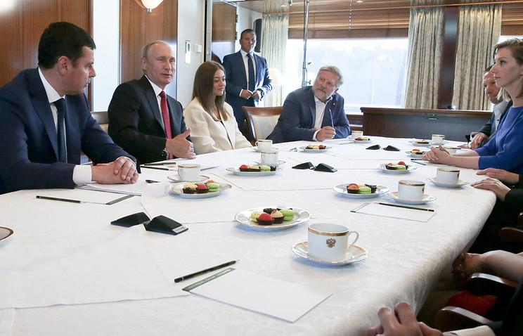 Путин высказался за реформирование патентной системы России