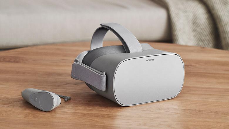 Компания Facebook показала новую автономную VR-гарнитуру Oculus Go