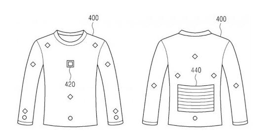 Samsung запатентовала смарт-джемпер для подзарядки гаджетов