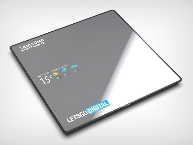 Samsung запатентовала сенсорный телевизор Smart Mirror TV с функцией зеркала
