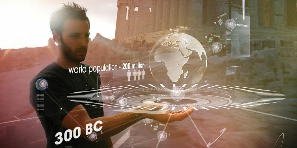 Инновация от Samsung: голографический смартфон со сворачивающимся экраном