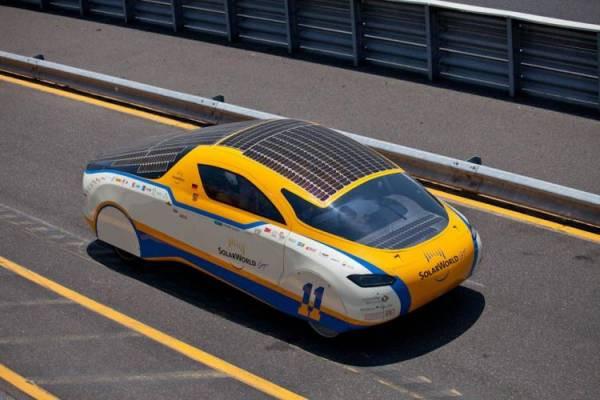 В России разработали первый автомобиль, работающий на солнечной энергии