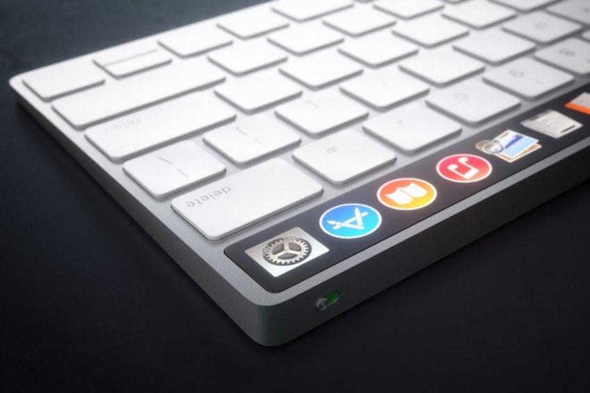 Apple планирует совместить клавиатуру для Mac с трекпадом