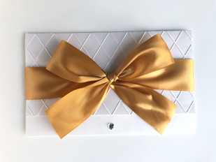 Convite Gold Heart