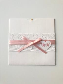 Convite Heart Lace