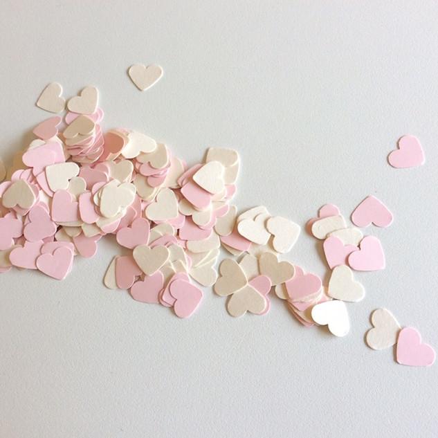 Confetis coração