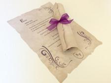 Convite Papiro