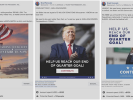 How The Presidential Campaigns Are Leveraging Social Media Advertisements
