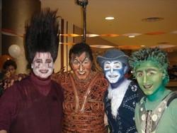 Puumba, Scar, Zazu, & Timon