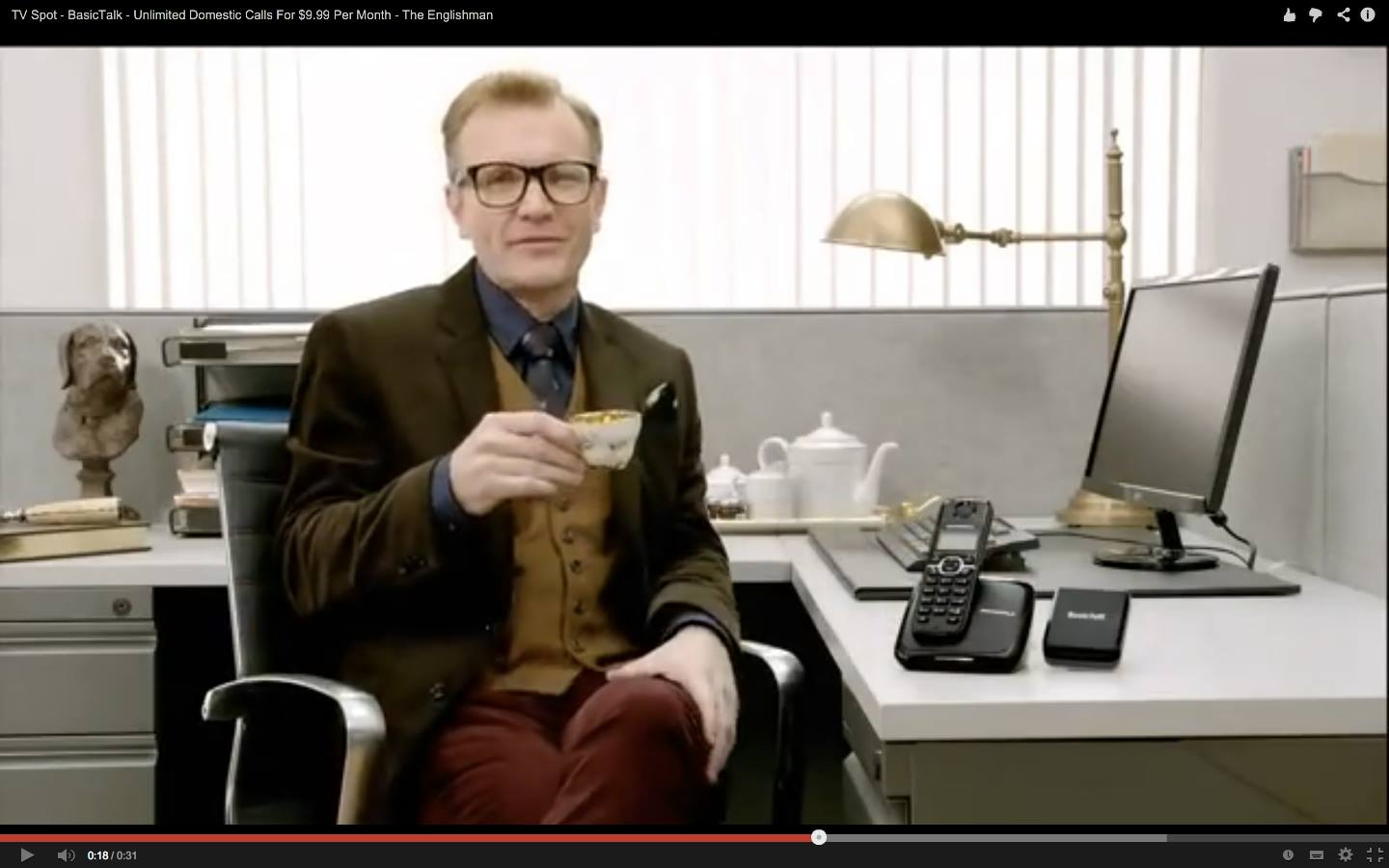 Vonage Commercial: The Englishman