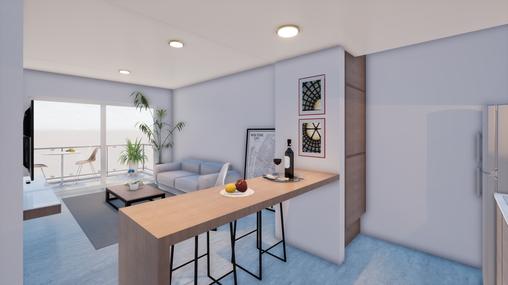 Interior del Departamento A