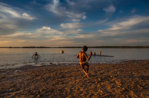 Futebol na lagoa Ipawu Código 024_RTY150714