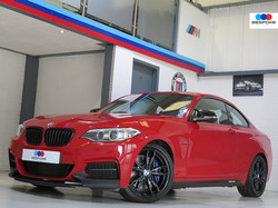 2014 BMW M235I M SPORT COUPE AUTO M PERFORMANCE EXAMPLE - MELBOURNE RED