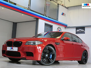 BMW M5 SAKHIR ORANGE