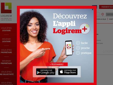 Application Logirem + : déjà plus de 2500 utilisateurs et une nouvelle version en préparation !
