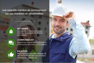 Batimize va être déployée sur les chantiers de réhabilitation de Maine et Loire Habitat.