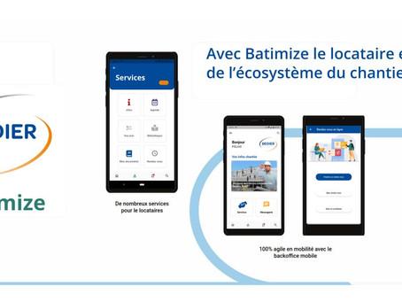Une nouvelle version de l'application Batimize adaptée pour les entreprises de travaux !