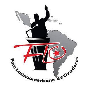 Logo Foro Latinoamericano de Oradores. F
