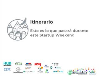 Start Up Weekend. Santiago. Chile. 2018.