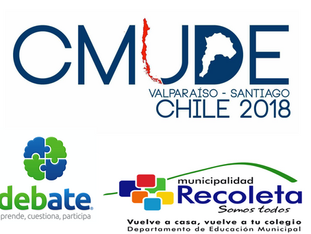 Responsabilidad Social CMUDE. Exposición de investigaciones científicas sobre debate educativo.