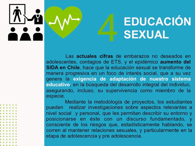 Debate y educación sexual.