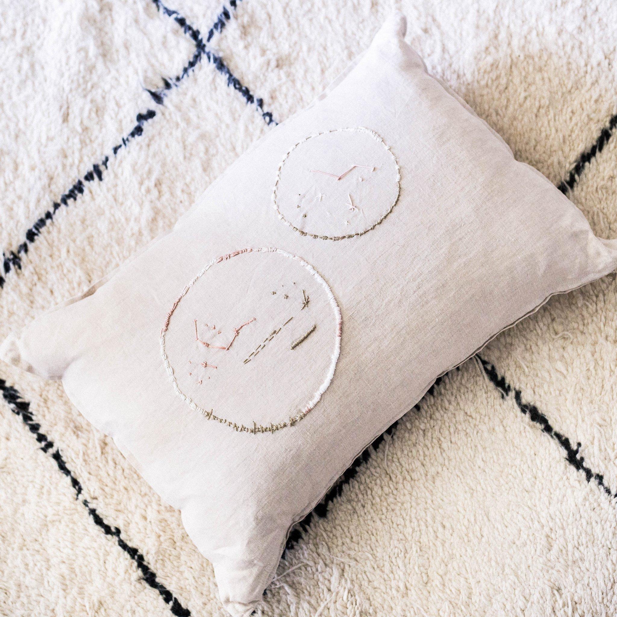 Jimnojean - Constellation Due Scatter Cushion