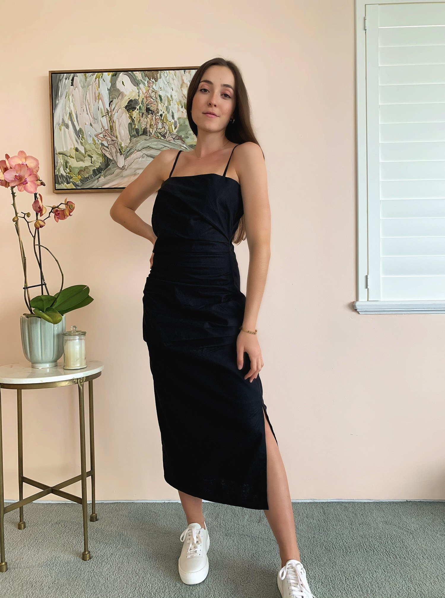 The Hems - Whippet Luxe Linen Dress