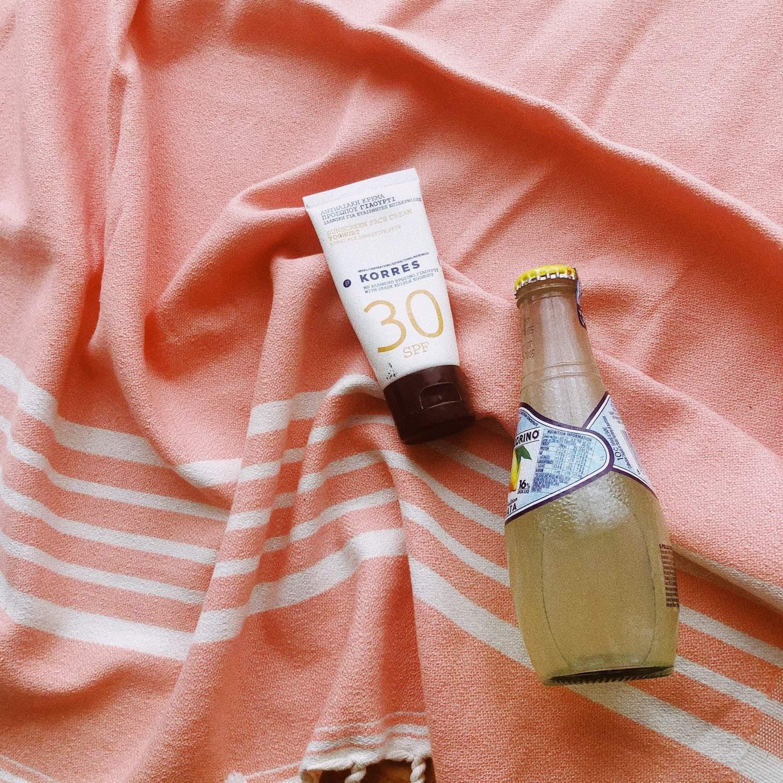 Summah - Laurent/Peach Towel