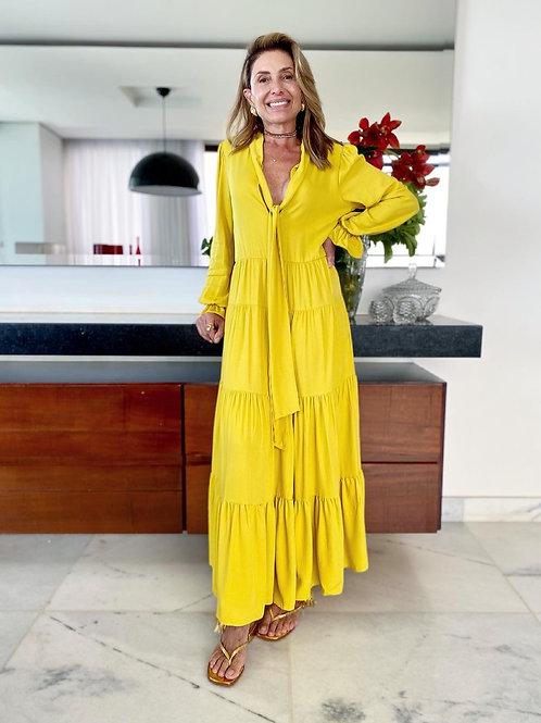 Vestido Illuminating Amarelo