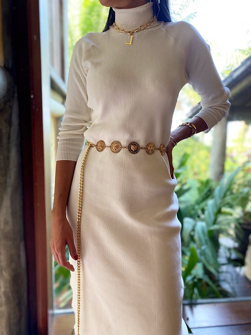 Vestido Mídi Tricot