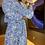 Thumbnail: Conjunto tweed Pantacourt - Azul