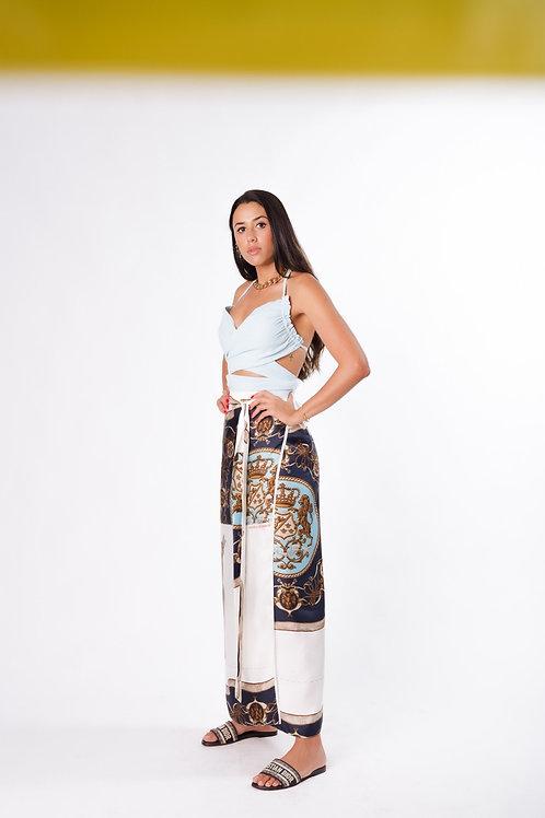 Blusa Linho Fru-fru