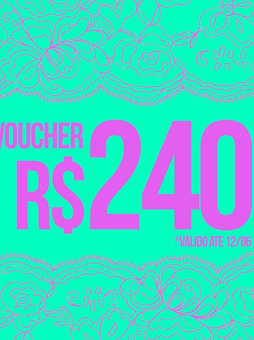 VOUCHER R$240