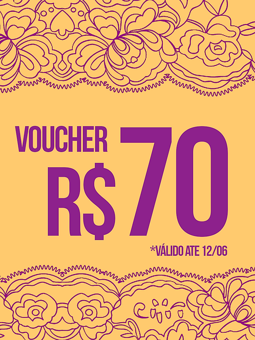 VOUCHER R$70