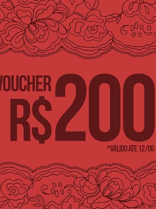 VOUCHER R$200