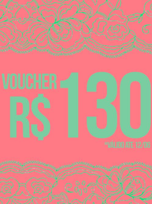 VOUCHER R$130
