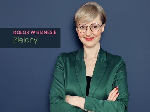 Zielony kolor w biznesie. W jakich branżach sprawdzi się kolor zielony w ubiorze