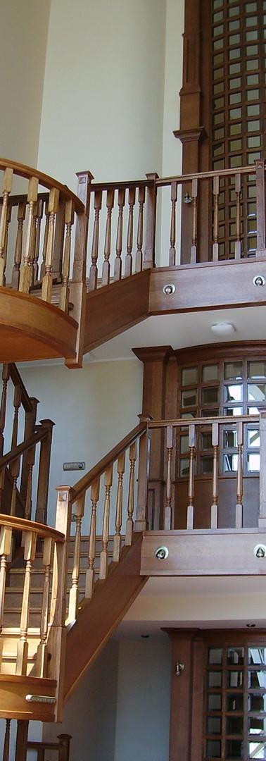 Лестница в пентхаусе