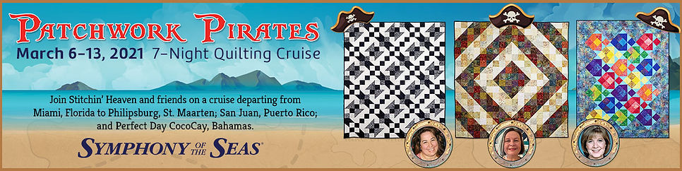 Patchwork Pirats Quilting Cruise