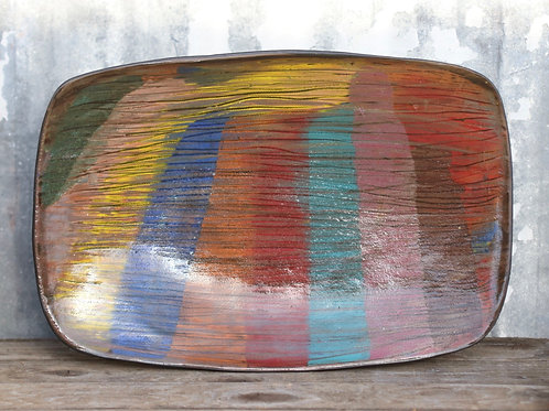 Stretched Rainbow Tray