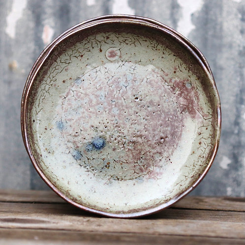 Speckled Coral Plate