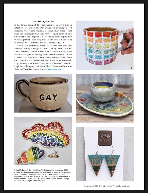 Yearbook and Annual Buyers Guide Ceramic