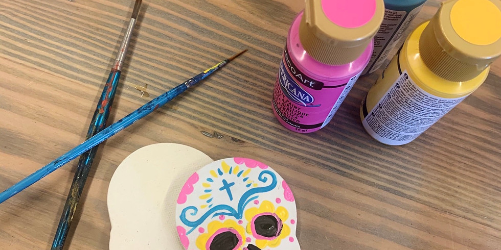 Paint a Halloween Magnet or Ornament