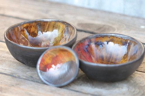 Orange Jewel Bowl
