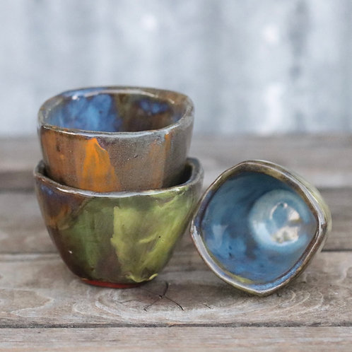 Cornered Bowl Set